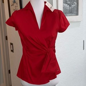 Brand New Red Blouse NY&Co